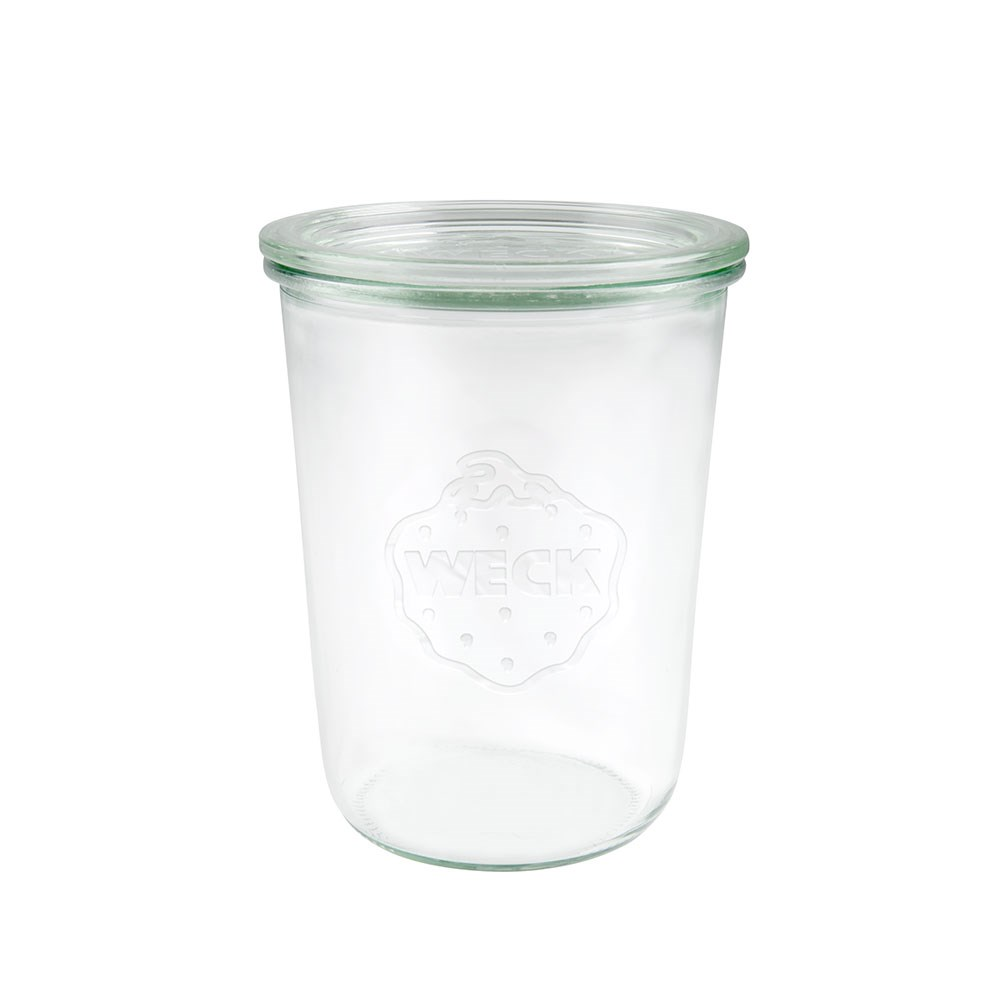 Weck Glass Jar with Lid 850ml 100x147mm - MIN ORDER QTY OF 6