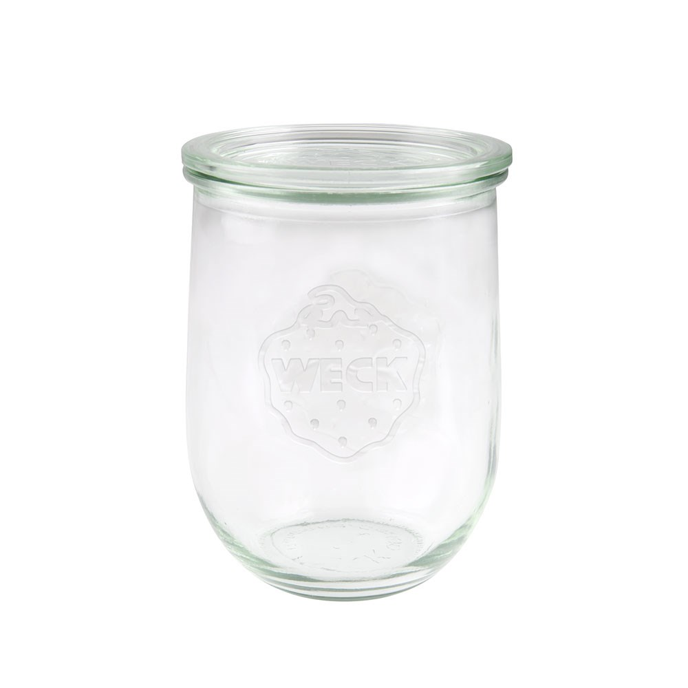 Weck Tulip Glass Jar with Lid 1062ml 100x147mm - MIN ORDER QTY OF 6