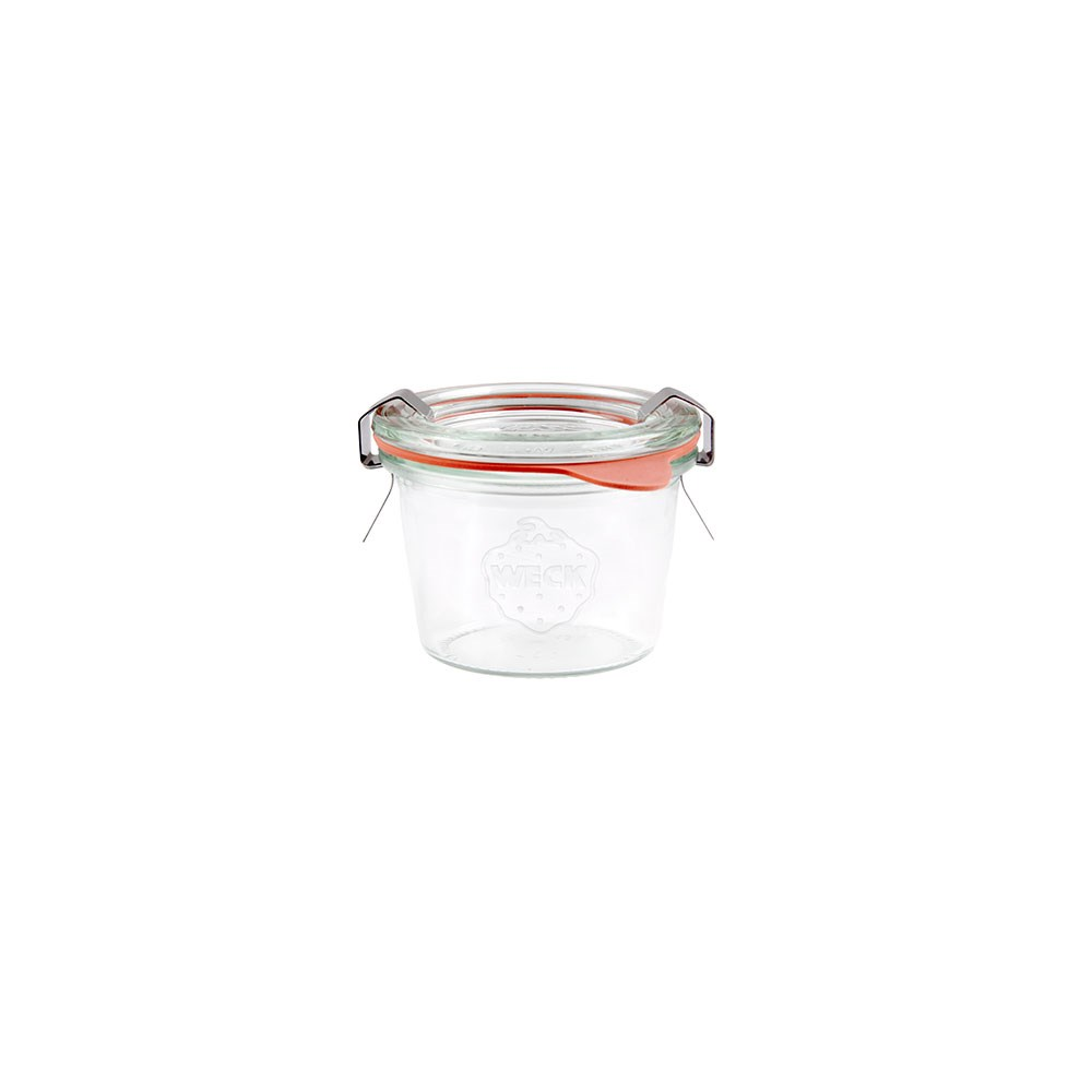 Weck Complete Glass Jar with Lid and Seal 80ml 60x55mm - MIN ORDER QTY OF 6