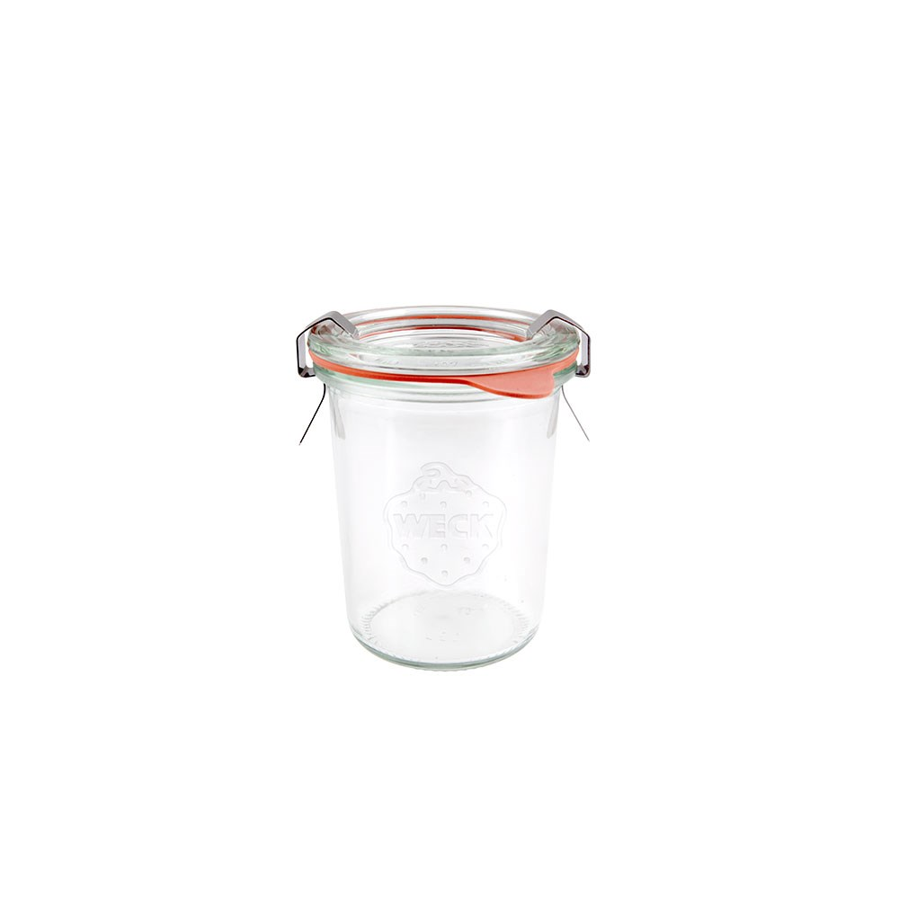 Weck Complete Glass Jar with Lid and Seal 160ml 60x80mm - MIN ORDER QTY OF 6