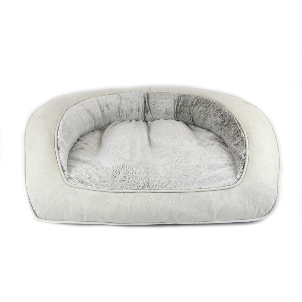 T & S Deluxe Portsea Luxy Linen Dog Bed Large