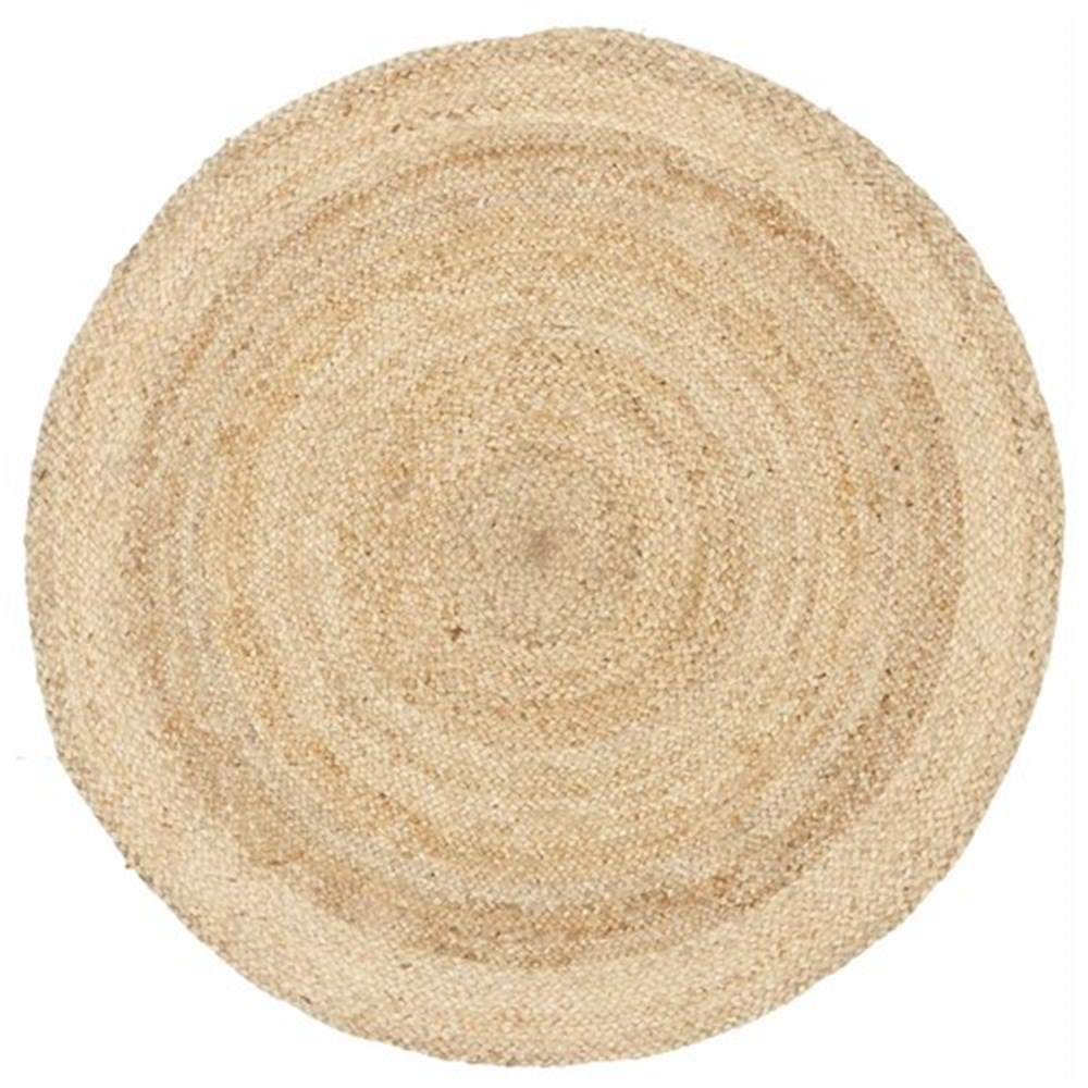 Rug Culture Round Jute Natural Rug 120 x 120cm