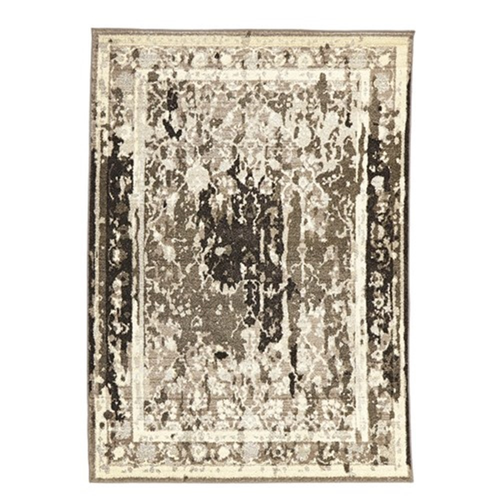 Rug Culture Stylish Overdyed Look Grey Rug 290X200cm