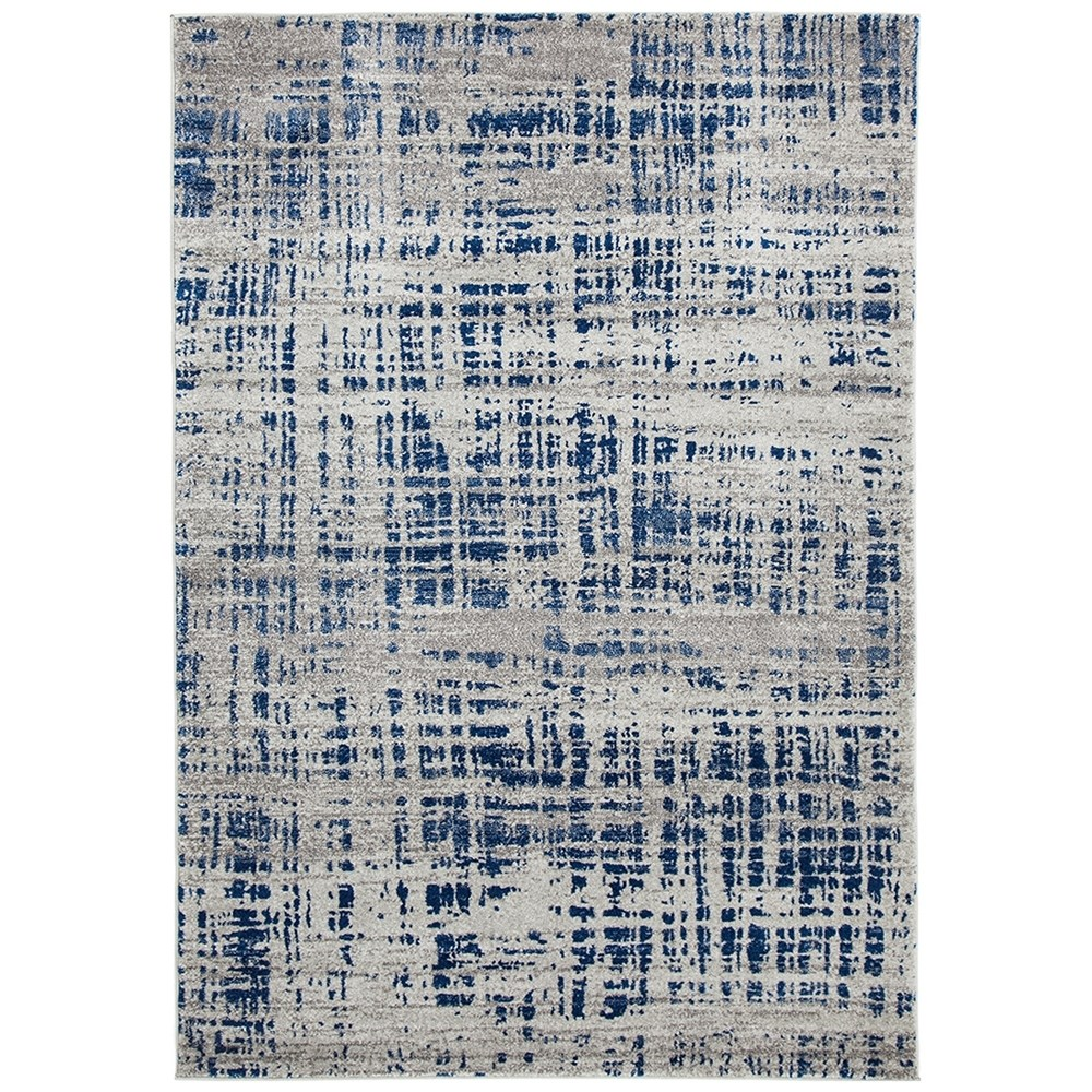 Rug Culture Ashley Abstract Modern Rug Blue Grey 230X160cm