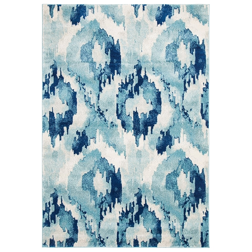 Rug Culture Lesley Whimsical Rug Blue 400X80cm