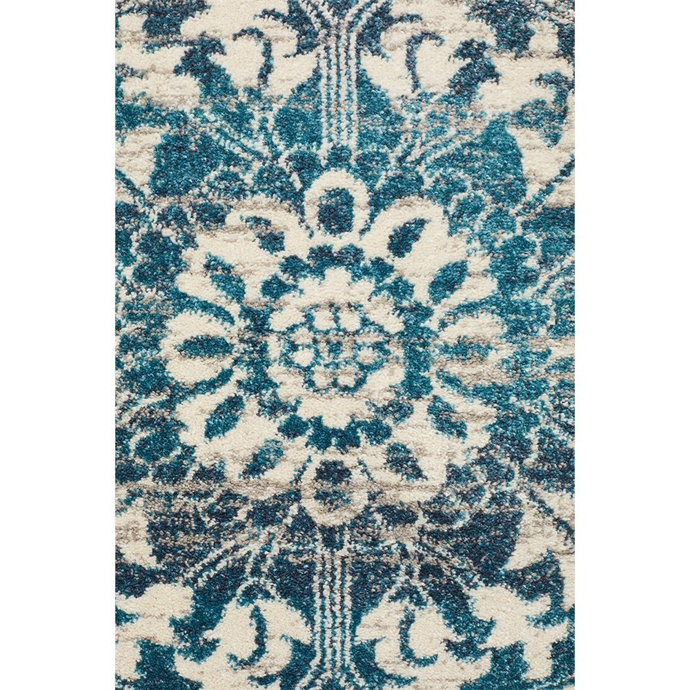 Rug Culture Babylon Traditional Oriental Rug Blue 290x200