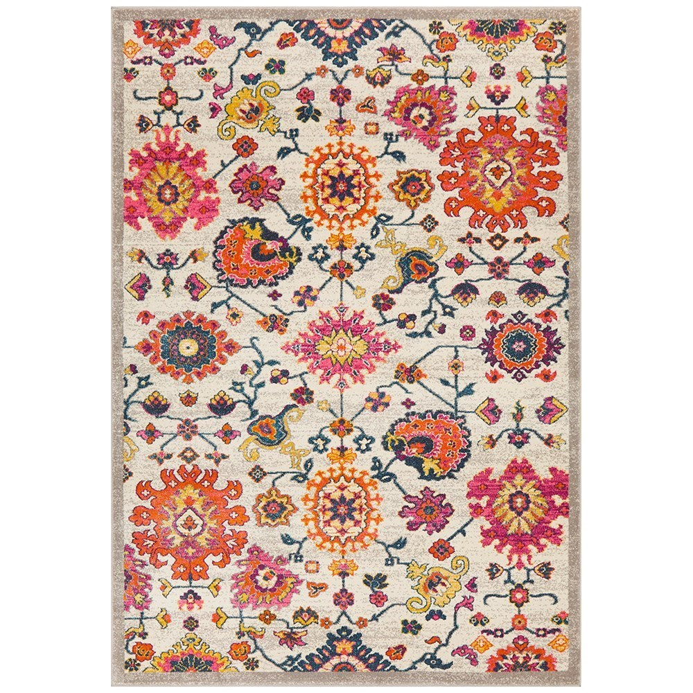 Rug Culture Babylon Paisley Flower Oriental Rug Multicolour 290x200