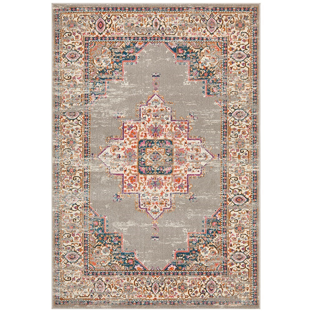 Rug Culture Babylon Traditional Oriental Rug Grey 290x200