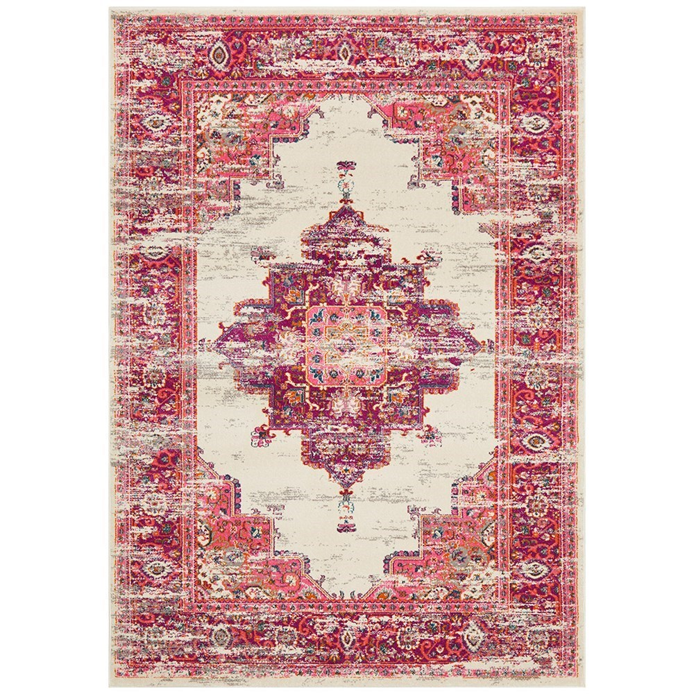 Rug Culture Babylon Traditional Oriental Rug Pink 290x200