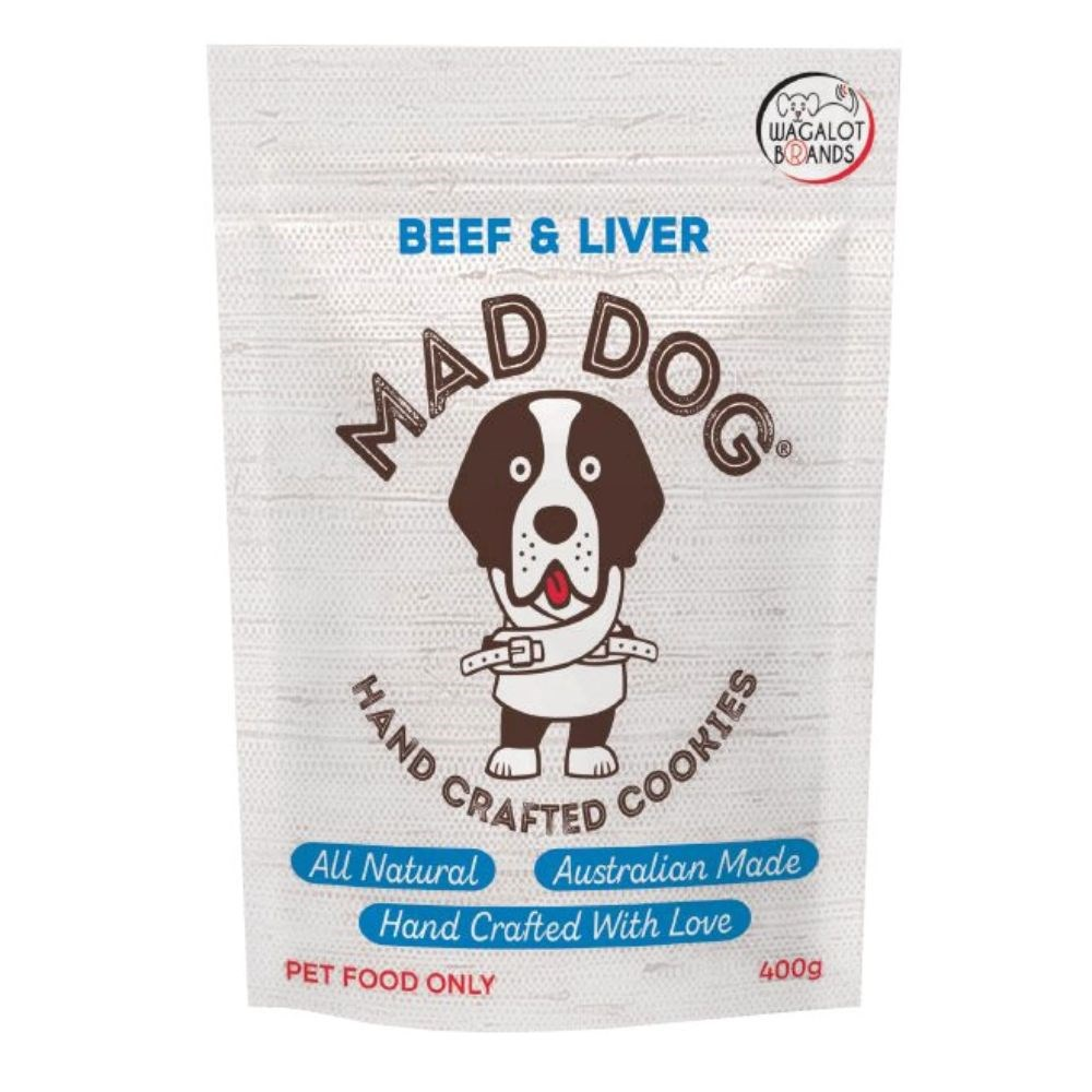 Wagalot Beef Liver Cookie Dog Treat 400g