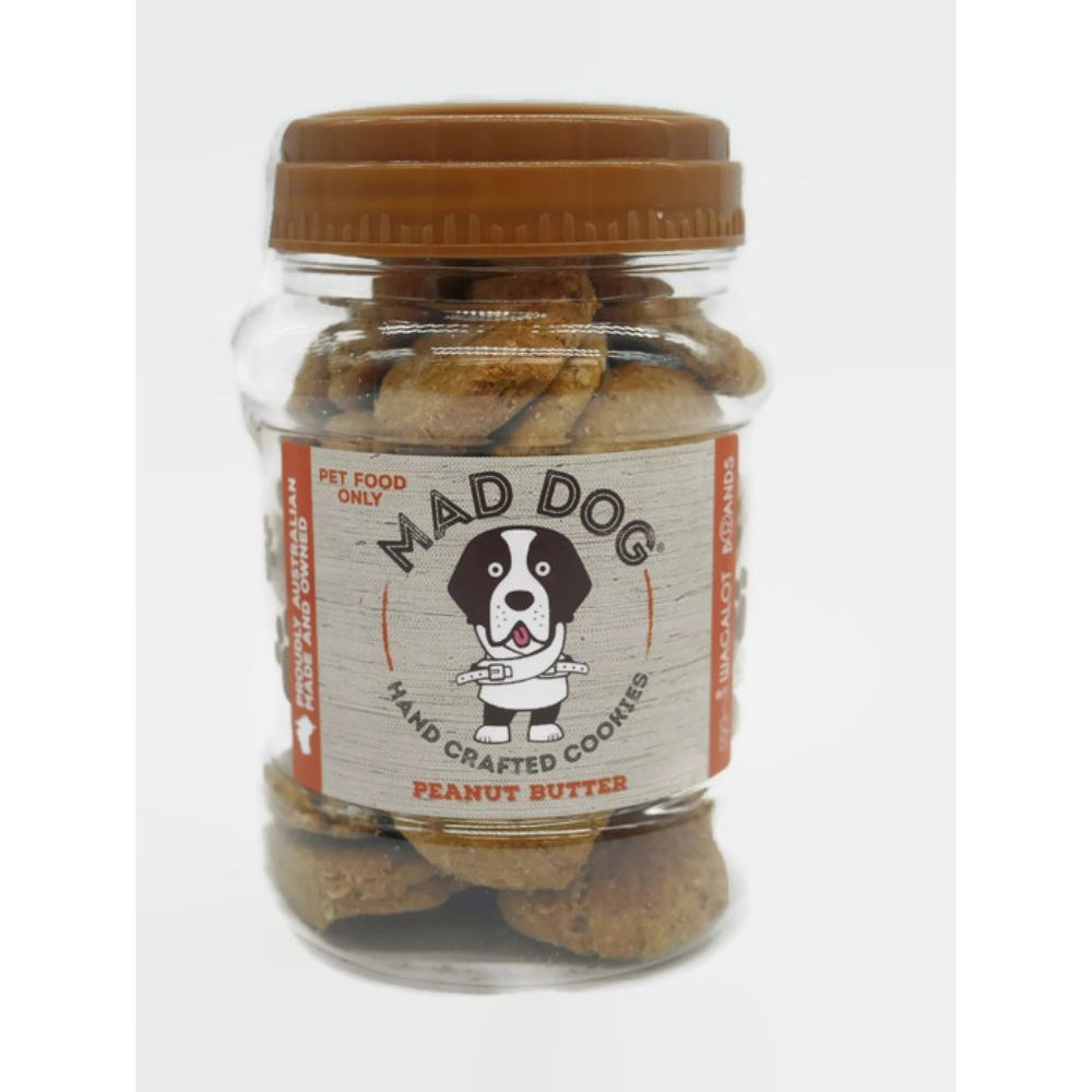 Wagalot Peanut Butter Cookie Jar Dog Treat 400g