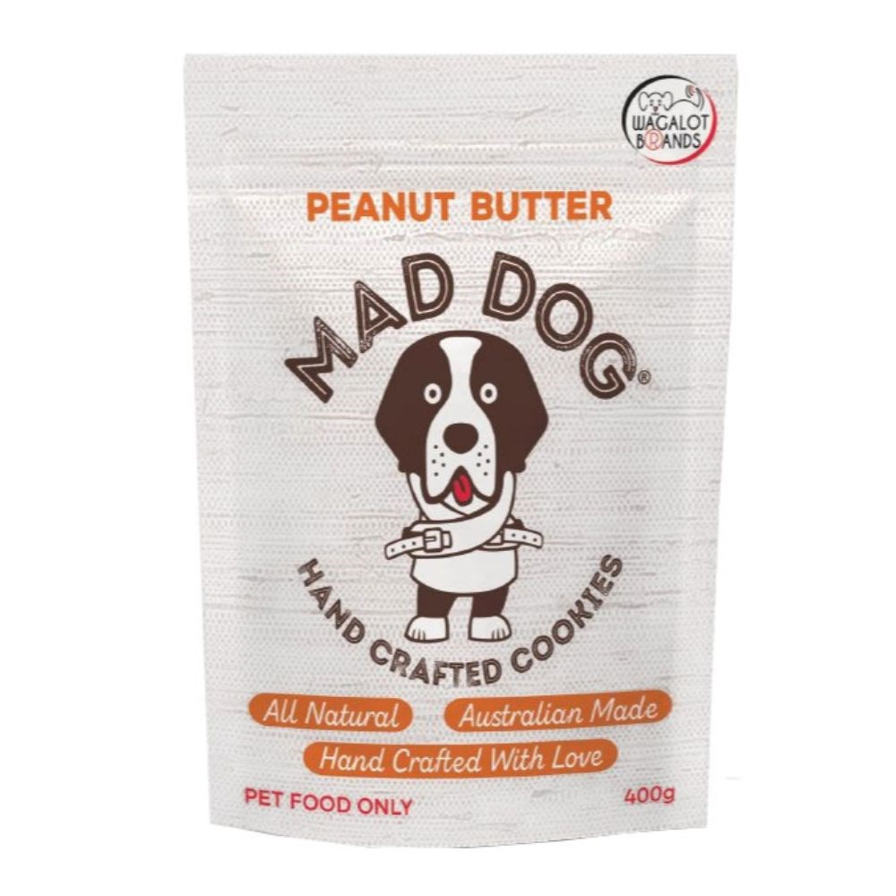 Wagalot Peanut Butter Cookie Dog Treat 400g