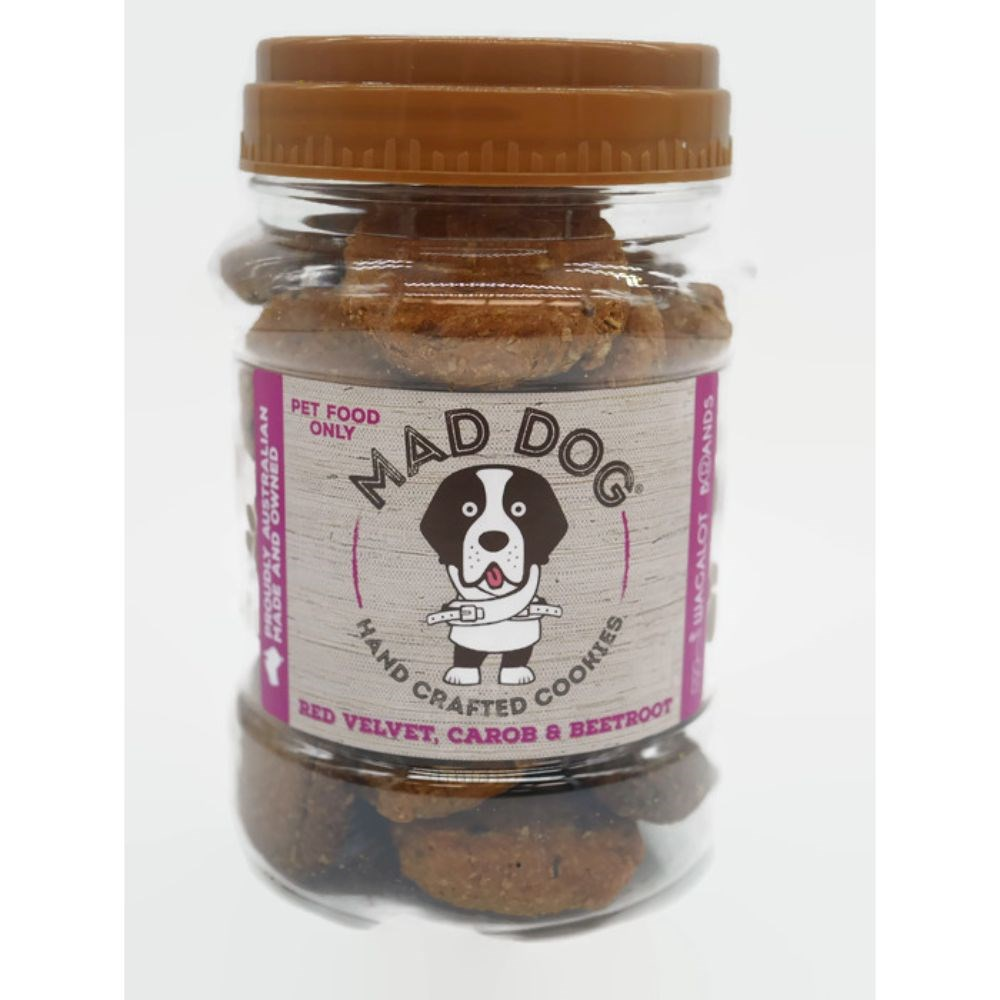 Wagalot Red Velvet Cookie Jar Dog Treat 400g