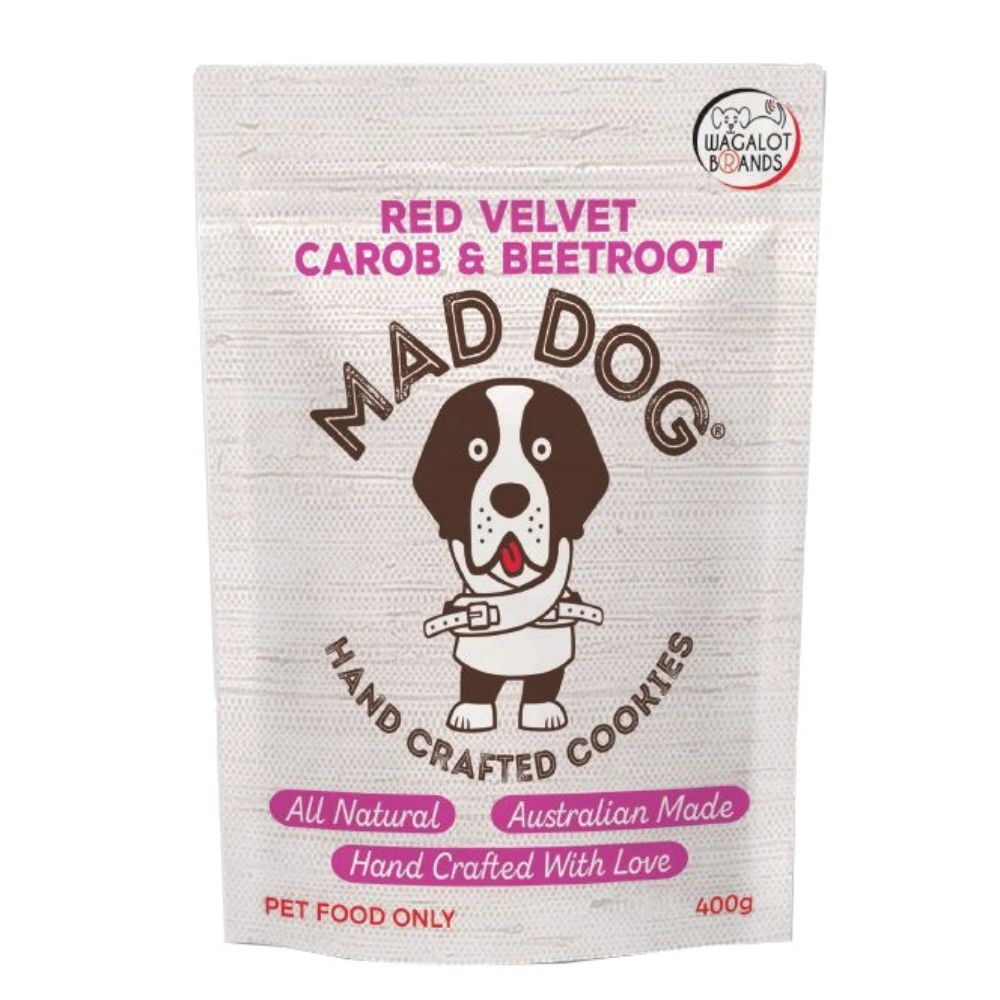 Wagalot Red Velvet Cookie Dog Treat 400g