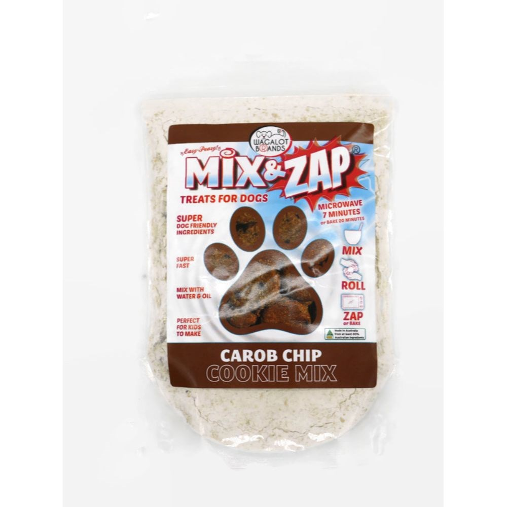 Wagalot Mix & Zap Double Carop Chip Cookie Kit Dog Treat