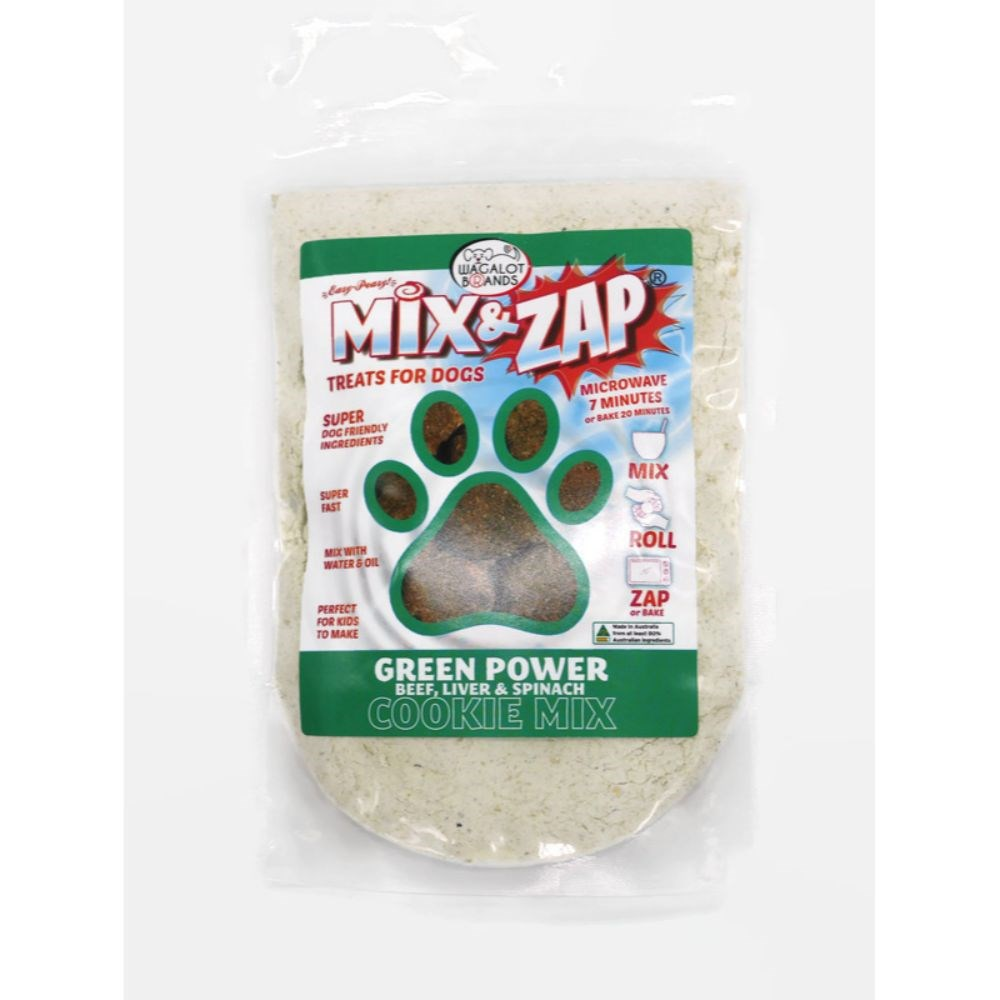 Wagalot Mix & Zap Beef, Liver & Spinach Cookie Kit Dog Treat