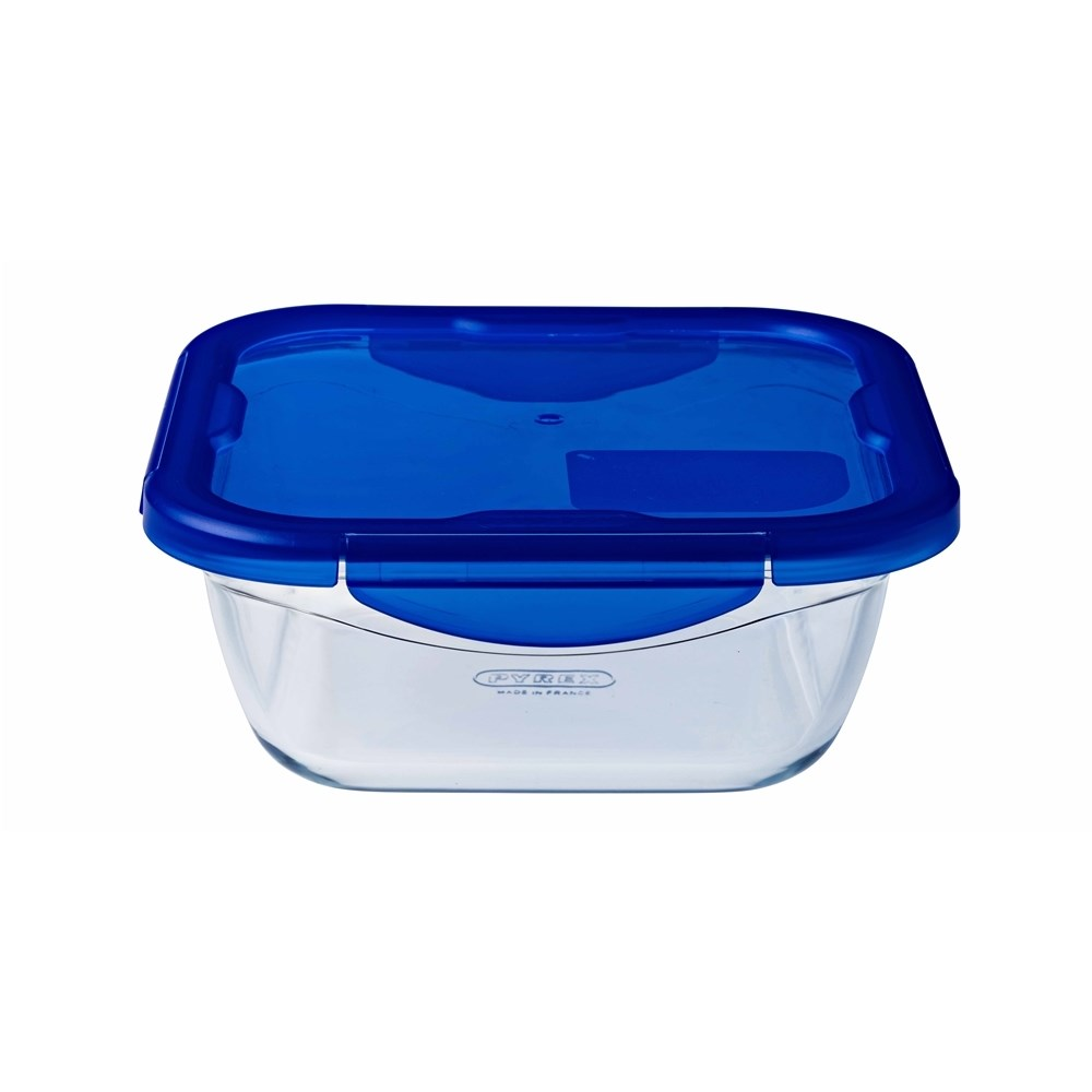 Pyrex Cook n Go 1.9L Square Roaster with Lid