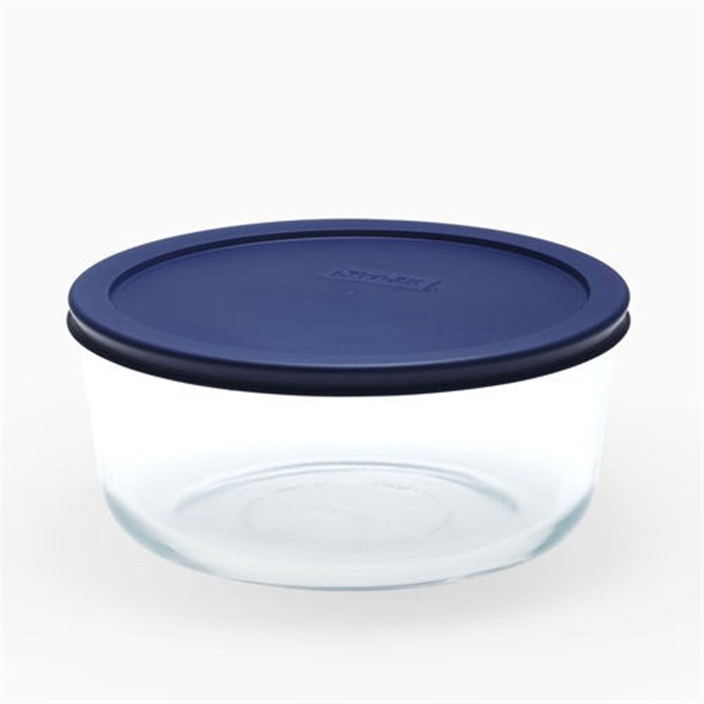 Pyrex Simply Store Round Container 7 Cup/1.65L Blue