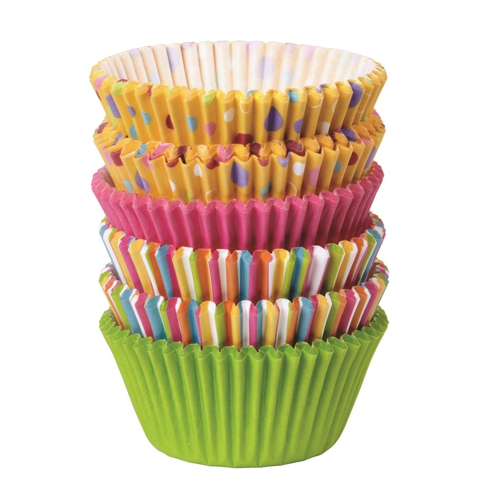 Wilton Sweet Dots/Stripes Cupcake Packs 150 pack