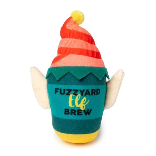 Fuzzyard Christmas Elf Brew Dog Toy