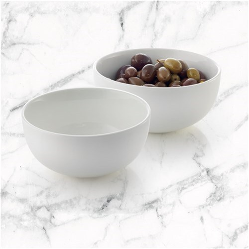 Ambrosia Zest Round Dip Bowl 12cm Set of 2