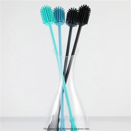 Scullery Kolori Silicone Bottle Brush Black