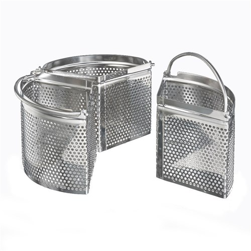 Soffritto A Series Stainless Steel Divided Steaming Basket 18 x 10cm