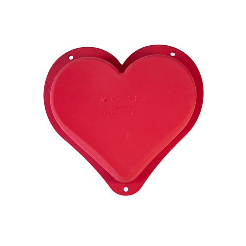 Soffritto Professional Bake Novelty Silicone Cake Pan Heart