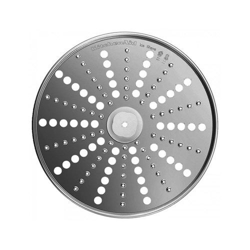 KitchenAid Stainless Steel Ice and Cheese Grating Disk for Artisan KFP1333 Food Processor