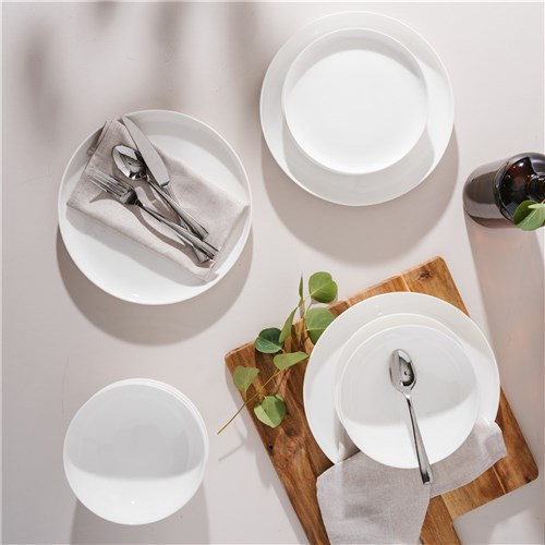 Alex Liddy Aquis Coupe 12 Piece Dinner Set