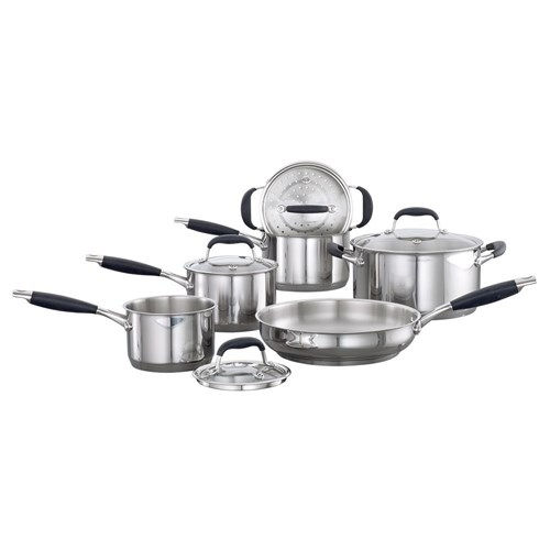 Baccarat Capri + Stainless Steel Cookware Set 6 Piece