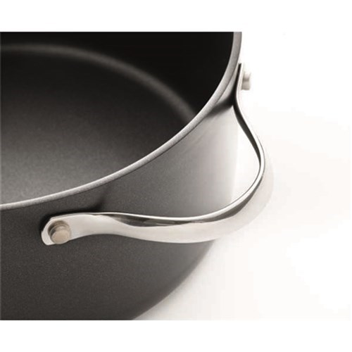 Baccarat iD3 Hard Anodised Casserole with Lid 24 x 11cm