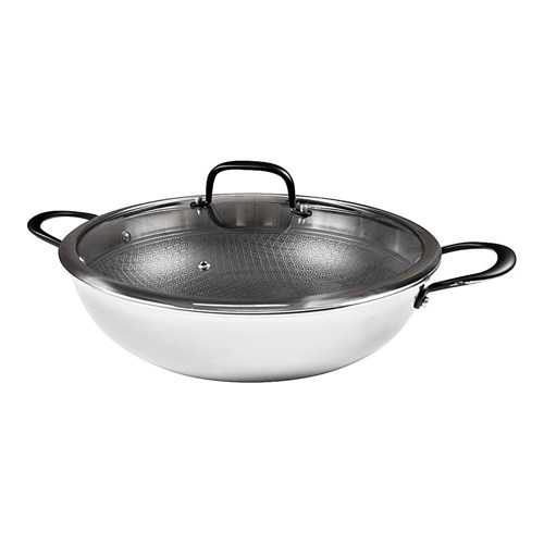 Baccarat Triton Stainless Steel Non-Stick Saute Pan with Lid 32cm