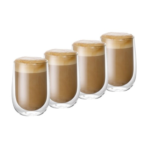 Baccarat Barista Cafe Double Wall Glass 350ml Set of 4