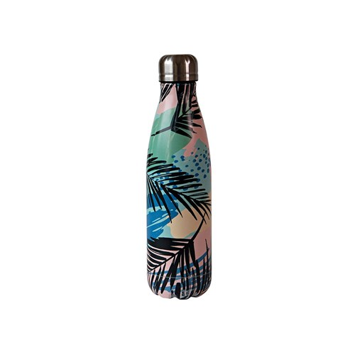 h2 hydro2 Quench Suma Double Wall Stainless Steel Water Bottle 500ml Fern