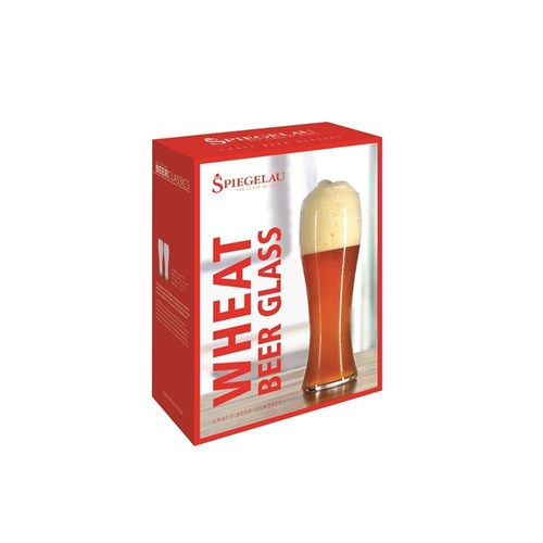 Spiegelau Beer Classics 4 Piece Crystal Wheat Beer Glass Set 700ml