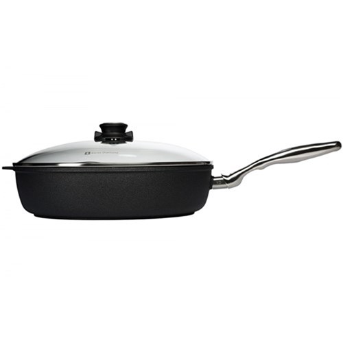 Swiss Diamond XD Classic Deep Saute Pan With Glass Lid 32 x 7.5cm 5.5L
