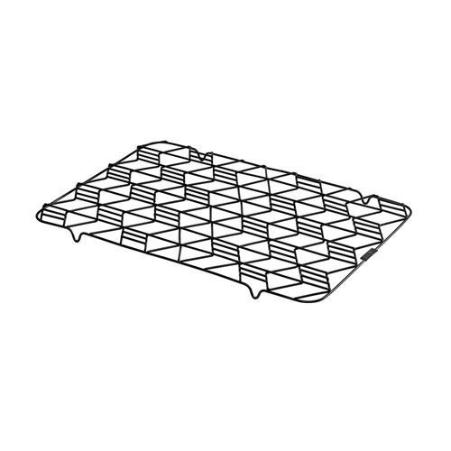 Pyrex Platinum Hexagonal Cooling Rack Small 40.5 x 28cm