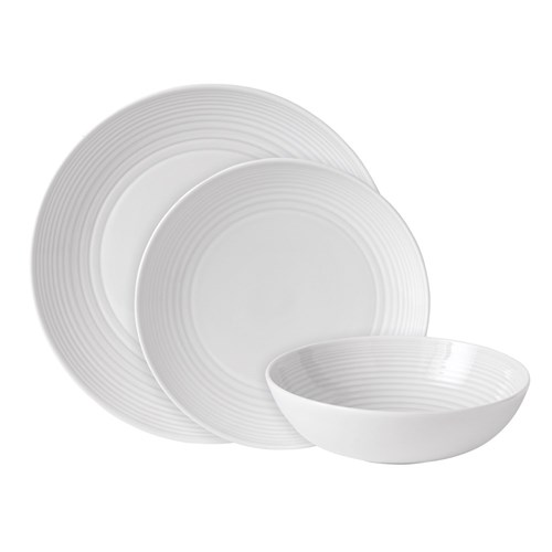 Royal Doulton Gordon Ramsay Maze White 12 Piece Dinner Set