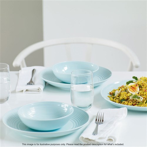 Royal Doulton Gordon Ramsay Maze Blue 12 Piece Dinner Set